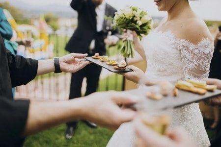 menú para bodas en verano
