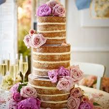 Tarta de boda con flores