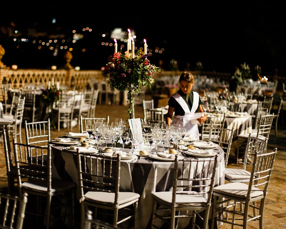 Catering para bodas en Huelva